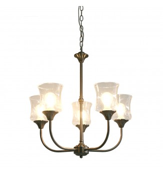 Tulipe 5-Light ORB Finish Chandelier