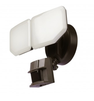 AWSENS 180 Degree Bronze LED Motion Outdoor Security Light