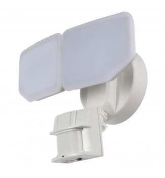 AWSENS 180 Degree White LED Motion Outdoor Security Light